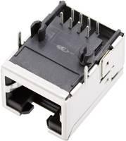 RJ45 beépíthető csatlakozó aljzat, 8P8C, vízszintes, BEL Stewart Connectors 1450-2000-02 (1450-2000-02) BEL Stewart Connectors