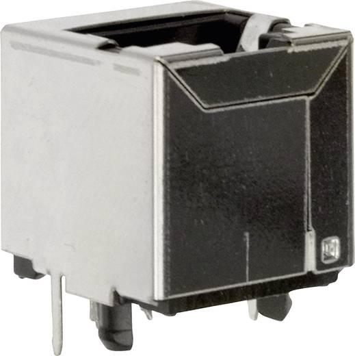Moduláris beépíthető alj, árnyékoló fedél nélkül, egyenes Pólusszám: 8P8C 1450-2000-01 BEL Stewart Connectors