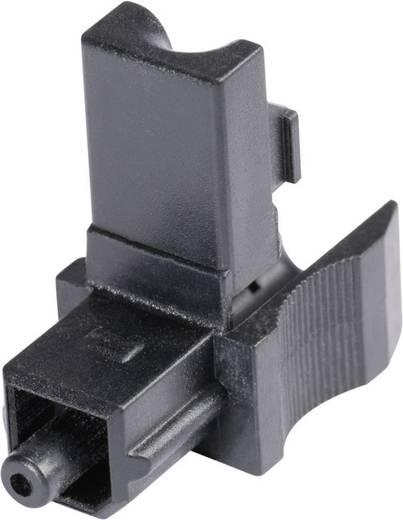 Toslink csatlakozó dugó, egyenes pólusszám: 1 fekete Hicon POF-TOS 1 db