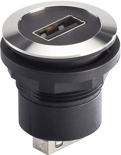 Schlegel beépíthető USB alj 2.0, fém, RRJVA_USB_AA