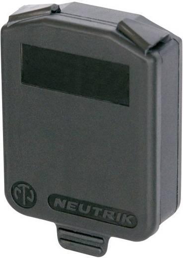 Lezáró kupak Neutrik SCDX fekete, 1db