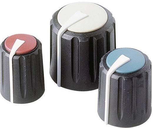 Rean Forgatógomb, Flexifit F 317 S 096 Fekete Tengely Ø 7.5 mm