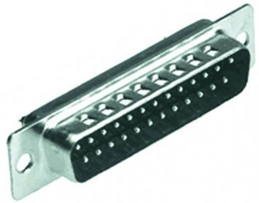 D-SUB tűs kapocsléc 180 ° pólusszám: 25 MH Connectors MHDB25-SP 1 db