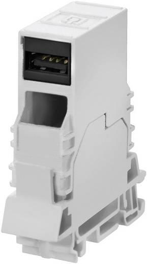 Weidmüller Outlet USB Kapcsolószekrénybe való, sínre rakható USB-s csatlakozó aljzat