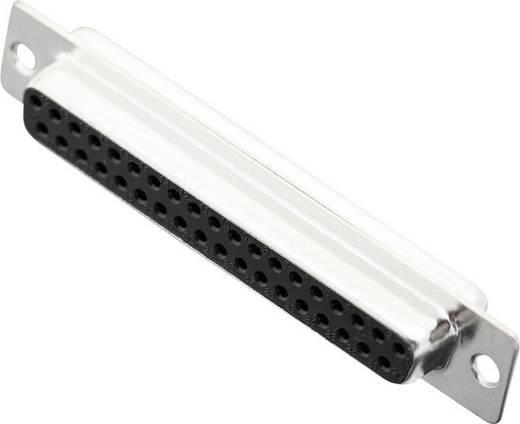 D-SUB hüvelyes kapocsléc 180 ° pólusszám: 37 MH Connectors MHDB37-SS 1 db