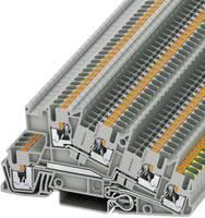 Phoenix Contact PTI 2,5-PE/L/L 3213949 Villanyszerelési védővezeték kapocs Pólusszám: 5 0.14 mm² 4 mm² Szürke 1 db Phoenix Contact