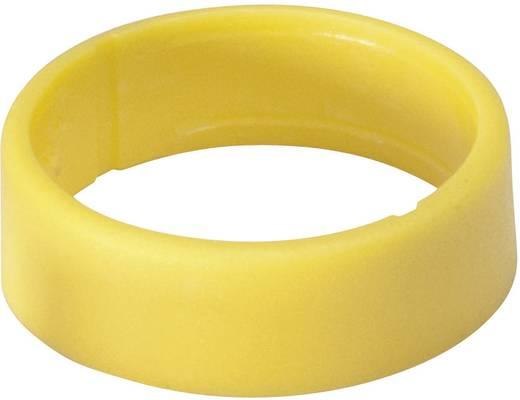Kábeljelölő gyűrű 1db sárga színű Hicon HI-XC-GE