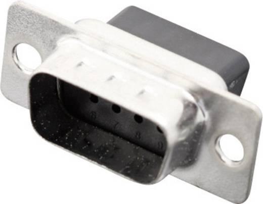 D-SUB tűs kapocsléc 180 ° pólusszám: 9 MH Connectors MHDBC09-SP 1 db