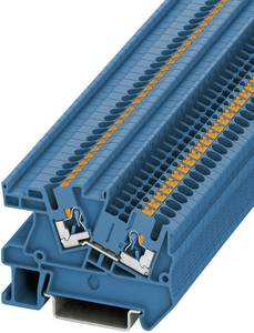 Phoenix Contact PTI 2,5 BU 3213969 Villanyszerelési kapocs Pólusszám: 2 0.14 mm² 4 mm² Kék 1 db Phoenix Contact