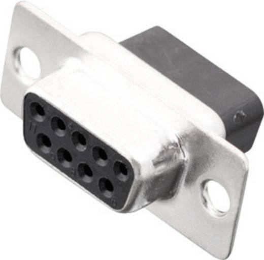 D-SUB hüvelyes kapocsléc 180 ° pólusszám: 9 MH Connectors MHDBC09-SS 1 db
