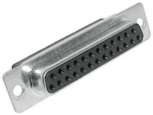 D-SUB hüvelyes kapocsléc 180 ° pólusszám: 25 MH Connectors MHDBC25-SS 1 db