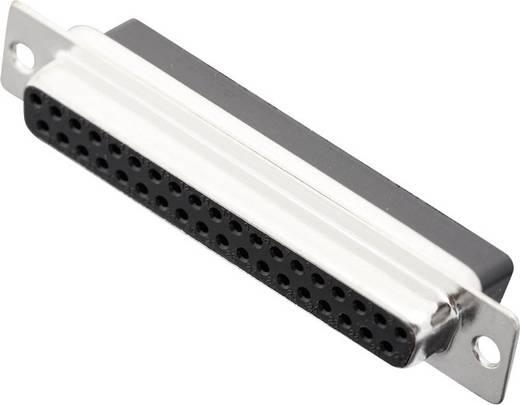 D-SUB hüvelyes kapocsléc 180 ° pólusszám: 37 MH Connectors MHDBC37-SS 1 db