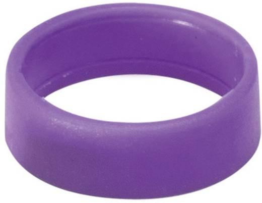 Kábeljelölő gyűrű 1db viola színű Hicon HI-XC-VI