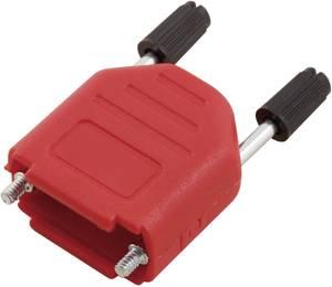 D-SUB doboz pólusszám: 25 műanyag 180 ° Piros MH Connectors MHDPPK25-R-K 1 db MH Connectors