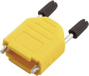 D-SUB doboz pólusszám: 15 műanyag 180 ° Sárga MH Connectors MHDPPK15-Y-K 1 db MH Connectors
