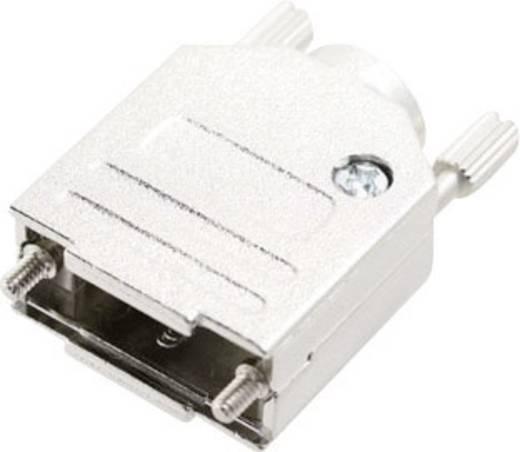 D-SUB doboz pólusszám: 25 fém 180 ° Ezüst MH Connectors MHDTZK-N-25-RA-K 1 db
