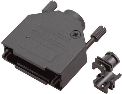 D-SUB doboz pólusszám: 15 fém 180 ° Fekete MH Connectors 6560-0115-02 1 db