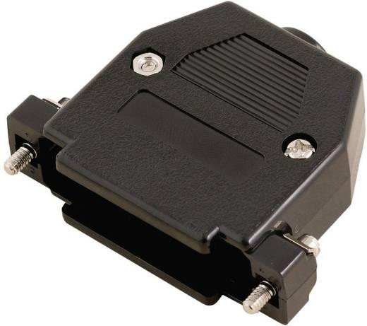 D-SUB doboz pólusszám: 9 műanyag 180 ° Fekete MH Connectors 2360-0102-01 1 db