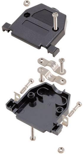D-SUB doboz pólusszám: 15 műanyag 180 ° Fekete MH Connectors 2360-0102-02 1 db