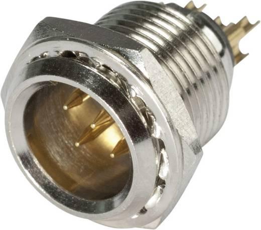 XLR csatlakozó dugó, beépíthető, függőleges pólusszám: 5 ezüst Hicon HI-XMEM5 1 db