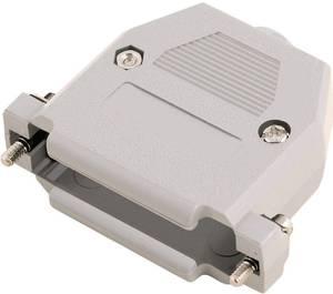D-SUB doboz pólusszám: 15 műanyag 180 ° Szürke MH Connectors 2360-0102-12 1 db MH Connectors