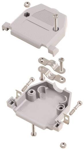 D-SUB doboz pólusszám: 15 műanyag 180 ° Szürke MH Connectors 2360-0102-12 1 db