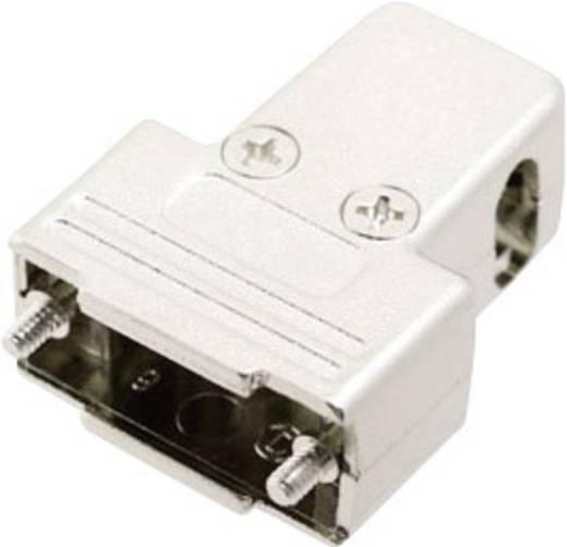 D-SUB doboz pólusszám: 9 180 °, 45 °, 45 ° Ezüst MH Connectors MHTRI-M-09-K 1 db