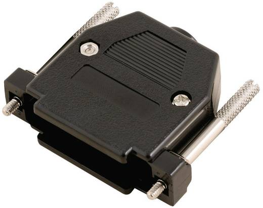 D-SUB doboz pólusszám: 9 műanyag 180 ° Fekete MH Connectors 2360-0102-21 1 db