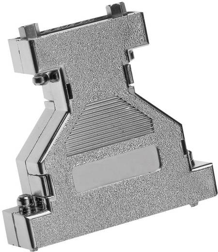 D-SUB adapterdoboz pólusszám: 25, 25 műanyag, fémes,180 ° Ezüst Provertha 672525M 1 db