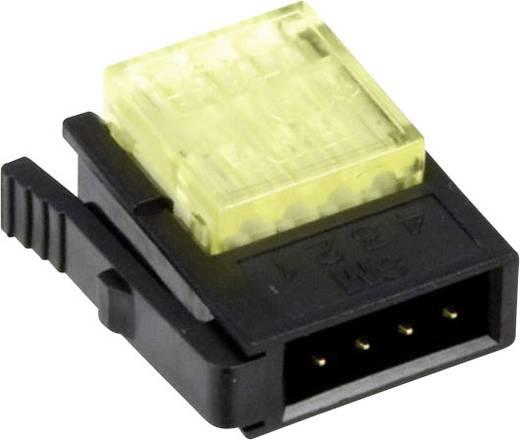 MiniClamp csatlakozó, 4 pólusú, AWG24-26 sárga
