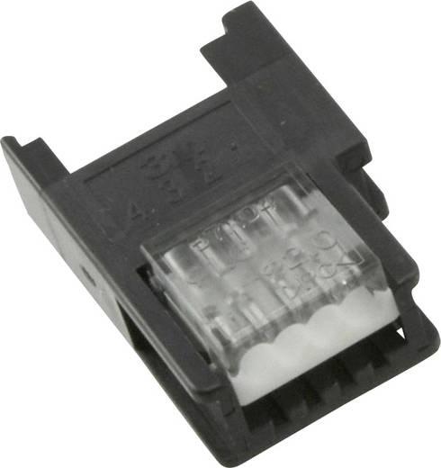 MiniClamp csatlakozó alj, 4 pólusú, AWG 20-22 szürke