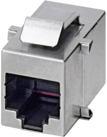 RJ45 aljzat betét, IP20 Alj, beépíthető Pólusszám: 8P8C VS-08-BU-RJ45/BU Phoenix Contact Tartalom: 1 db