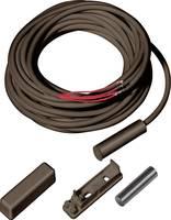 ABUS NC ajtó- és ablaknyitás érzékelő szabotázs védelemmel, barna MK1010B ABUS