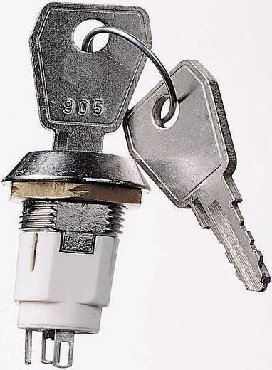 Lorlin kulcsoskapcsoló 50 V/DC, 3 A, Ø16 mm, 60˚