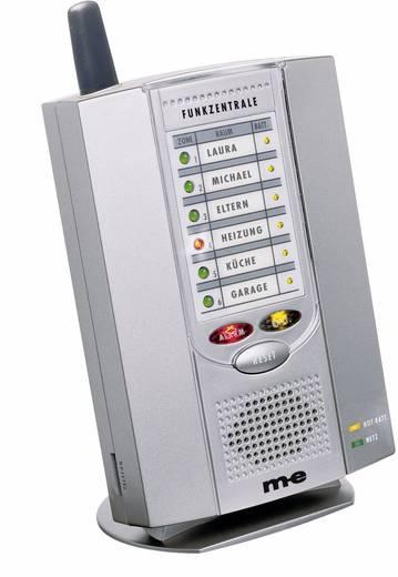 m-e GmbH 6 csatornás vezeték nélküli füstjelző központ, 85-90 dB, FMR 300, 20030