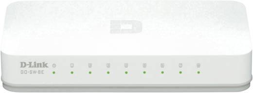 8 portos RJ45 ethernet switch 100 MBit/s D-Link GO-SW-8E