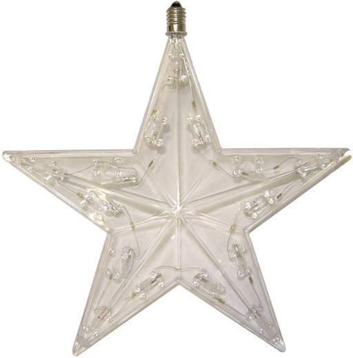 Karácsonyfa pótizzó, csillag, 1 db, 24V, 5,1W, átlátszó, Konstsmide 2053-550