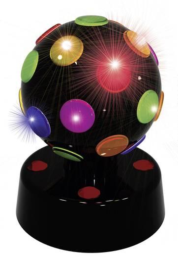 LED-es asztali diszkógömb, Ø 13,5 cm, 170 mm, színes