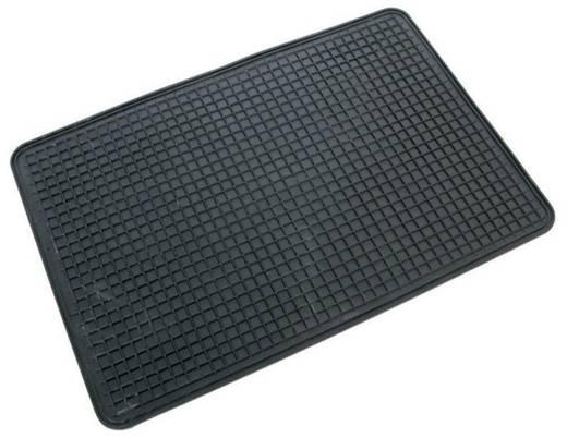 Gumiszőnyeg autóba, sejtmintás, 50 x 35 x 1 cm, fekete, CarPoint