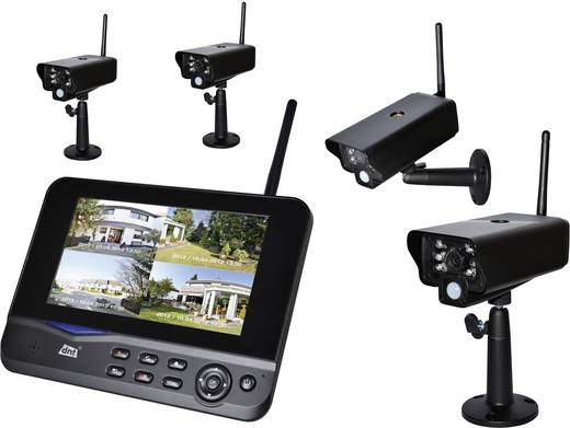 Vezeték nélküli megfigyelő kamerarendszer dnt Profiset 52201