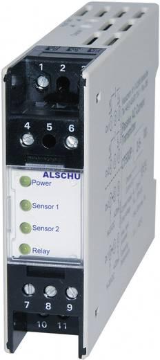 DIN sínes elektródás vízérzékelő készülék, 2 vezérlő bemenettel (érzékelők nélkül), Greisinger ALSCHU 300 SP
