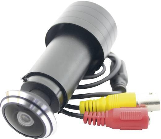 Ajtókémlelőnek álcázott megfigyelő kamera, 420 TVL 3,6 mm, W 220
