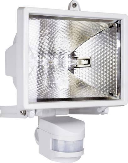 Halogén kültéri reflektor mozgásérzékelővel, R7s, 400 W, 230 V, IP44, fehér, ES42W