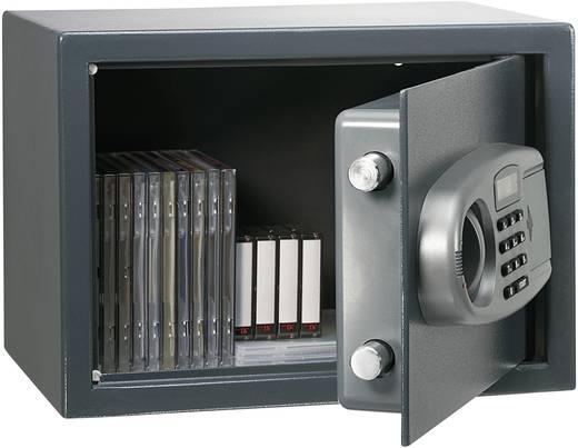 Digitális számzáras falra szerelhető széf, elektronikusan zárható fali trezor, Conrad Tresor 25