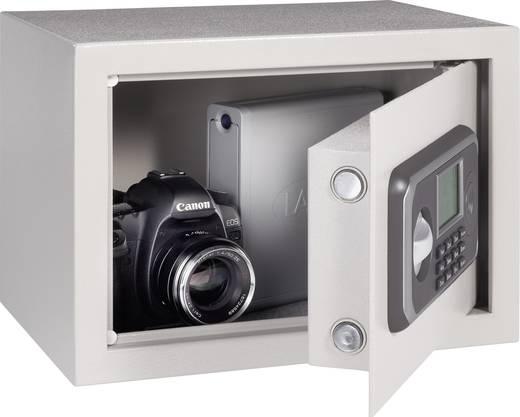 Digitális számzáras falba építhető széf, elektronikusan zárható fali trezor LCD kijelzővel, Conrad Tresor 25