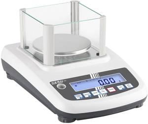 Precíziós mérleg Kern Mérési tartomány (max.) 3 kg Leolvashatóság 0.01 g Hálózatról üzemeltetett Ezüst (PFB 3000-2) Kern