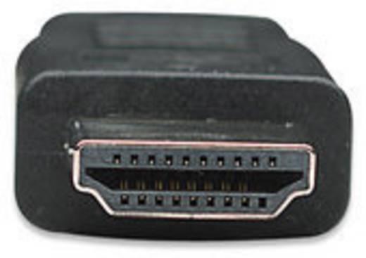 HDMI / DVI átalakító kábel, 1x HDMI dugó - 1x DVI dugó 24+1 pólusú, 1,8 m, Manhattan