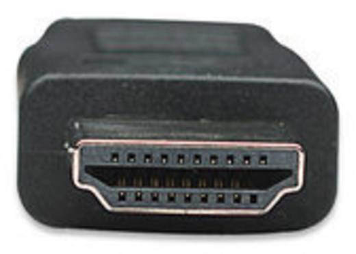 HDMI kábel [1x HDMI dugó 1x HDMI dugó] 15 m fekete Manhattan 756585