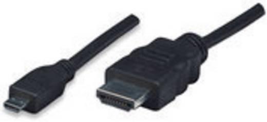 HDMI kábel [1x HDMI dugó 1x HDMI dugó D mikro] 2 m fekete 756589