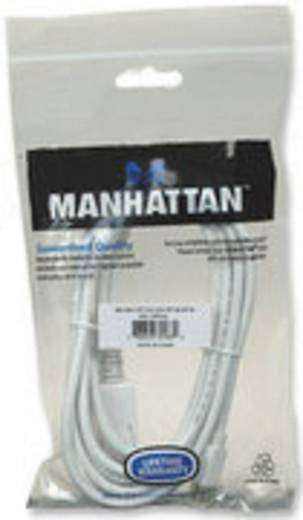 DisplayPort kábel [1x mini DisplayPort dugó - 1x DisplayPort dugó] 3 m fehér, Manhattan